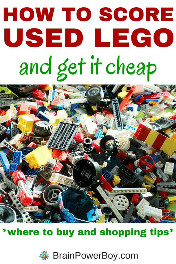 A followup to the popular article How to Save Money on LEGO Like a Ninja, How to Score Used LEGO and Get it Cheap has all the tips and money saving ideas you need for getting more bricks without breaking the bank. Click image to learn how to save at each store/venue and find the bricks and elements your LEGO fan needs.