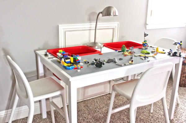 IKEA Dining Table Hacked to LEGO Table