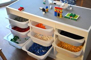 IKEA Trofast Frame with LEGO Plates