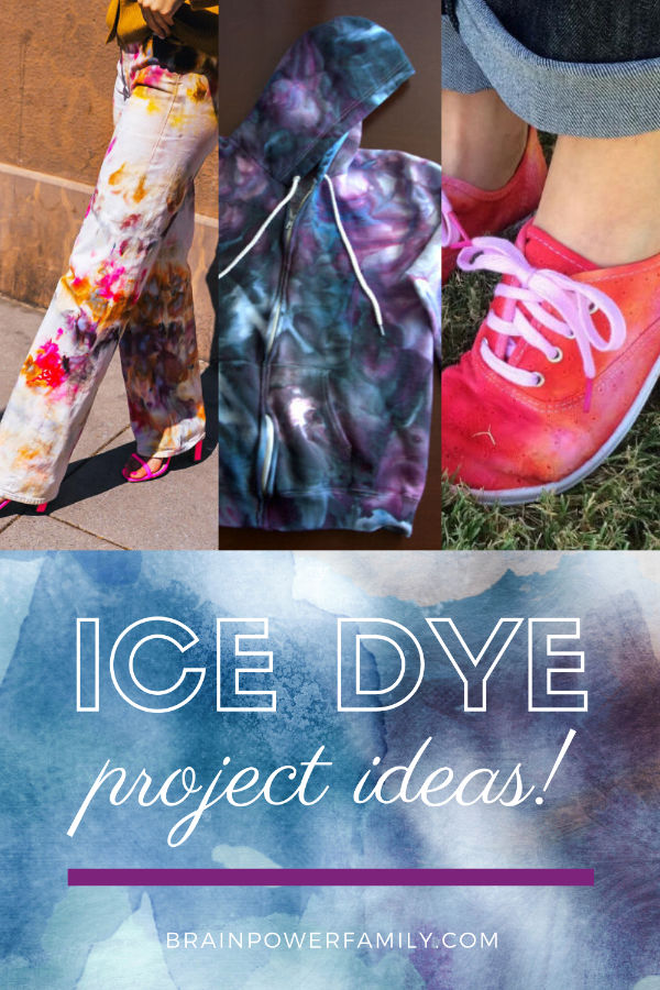 Project Ideas for Ice Dyeing