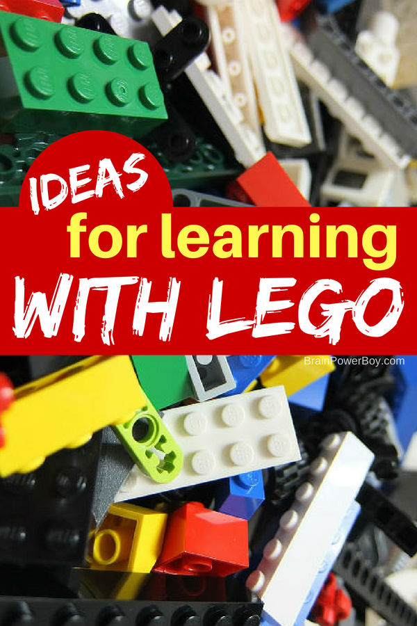 Click to see this page full of wonderful LEGO Learning Ideas. LEGO games and activities that they are really going to l.o.v.e!