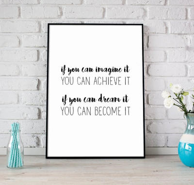 If you can imagine it quote - digital download