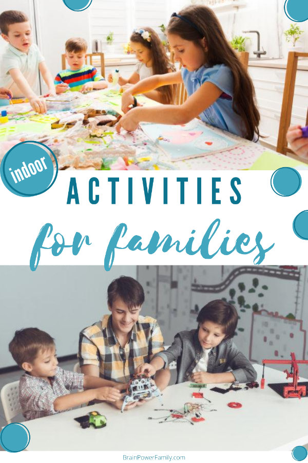 Indoor Family Activities to do at Home