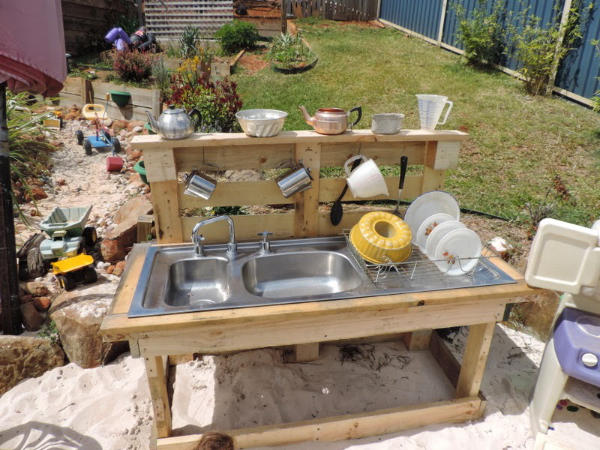 Kitchen Sink Water Table Mud Kitchen