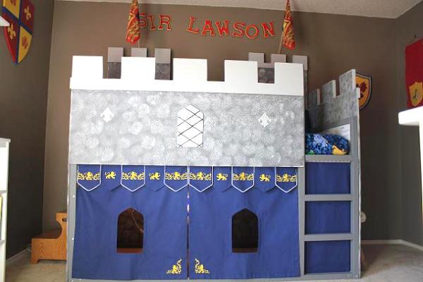 Kura Castle Bed for Boys Room