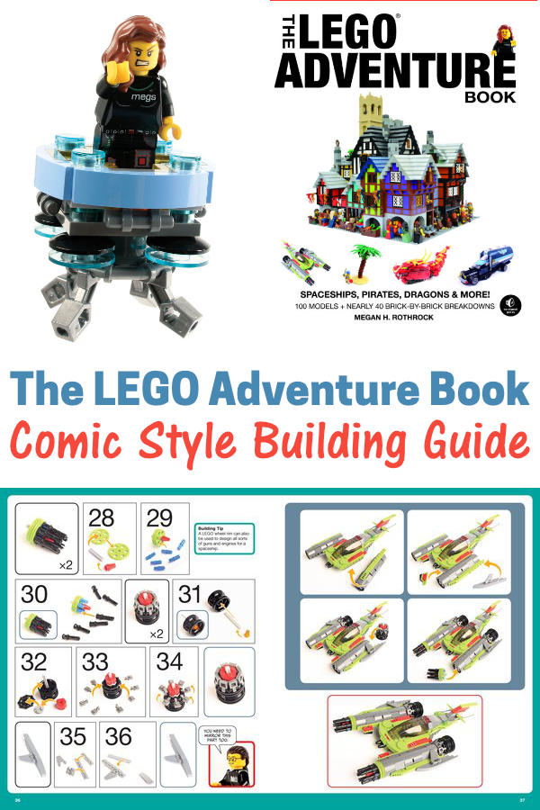 The LEGO Adventure Book - Inst;ructions for 40 Builds!