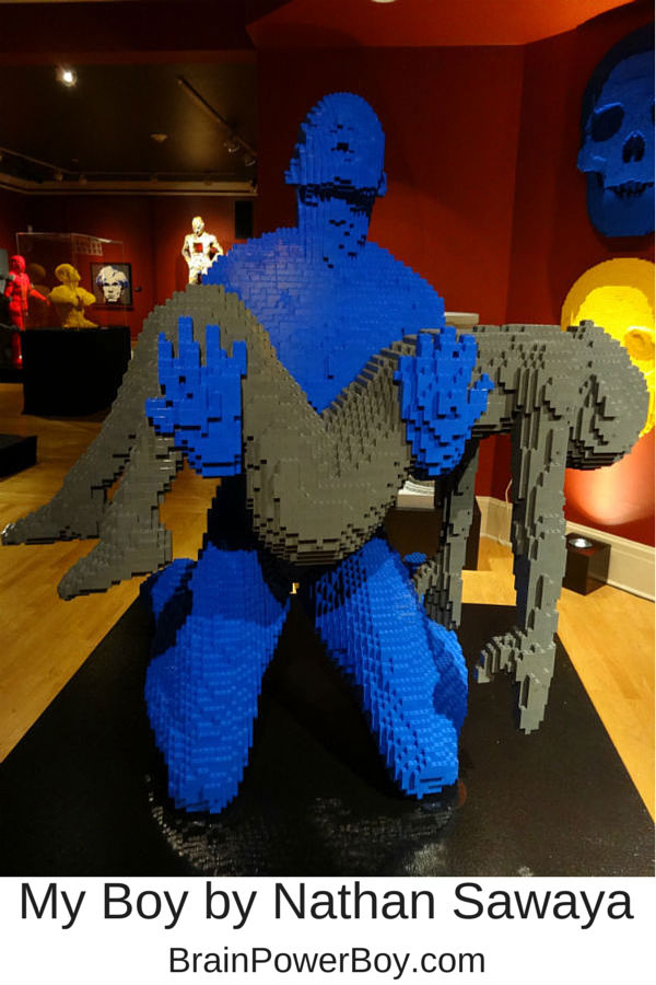 LEGO My Boy from The Art of the Brick