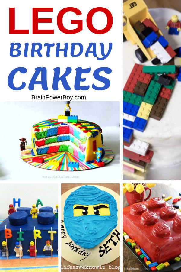 Need a cool cake for a LEGO birthday party? Try one of these LEGO cakes! They look impressive but are easy to make. And, they even include the recipes and instructions for decorating them.