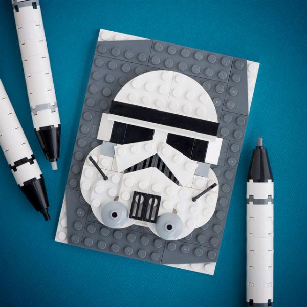 Chris McVeigh's Brick Sketch LEGO Star Wars Empire's Finest