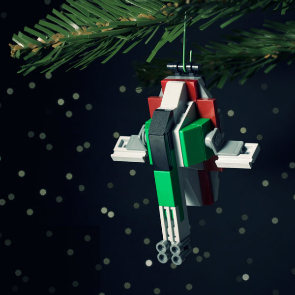 Chris McVeigh's Star Wars Slave Square LEGO Ornament