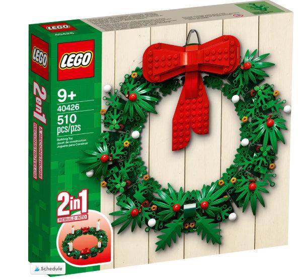 LEGO Set Christmas Wreath