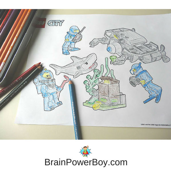 Get Your Free Printable LEGO Coloring Pages For City Duplo JRs Superheroes