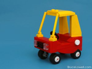 LEGO Cozy Coupe by Bruce Lowell. Interview | BrainPowerBoy