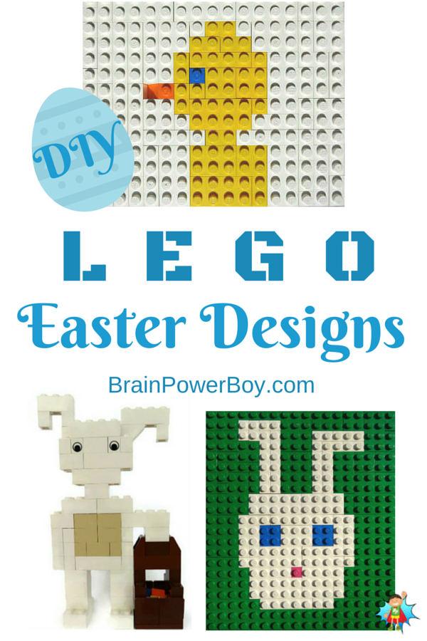 Easter LEGO Designs