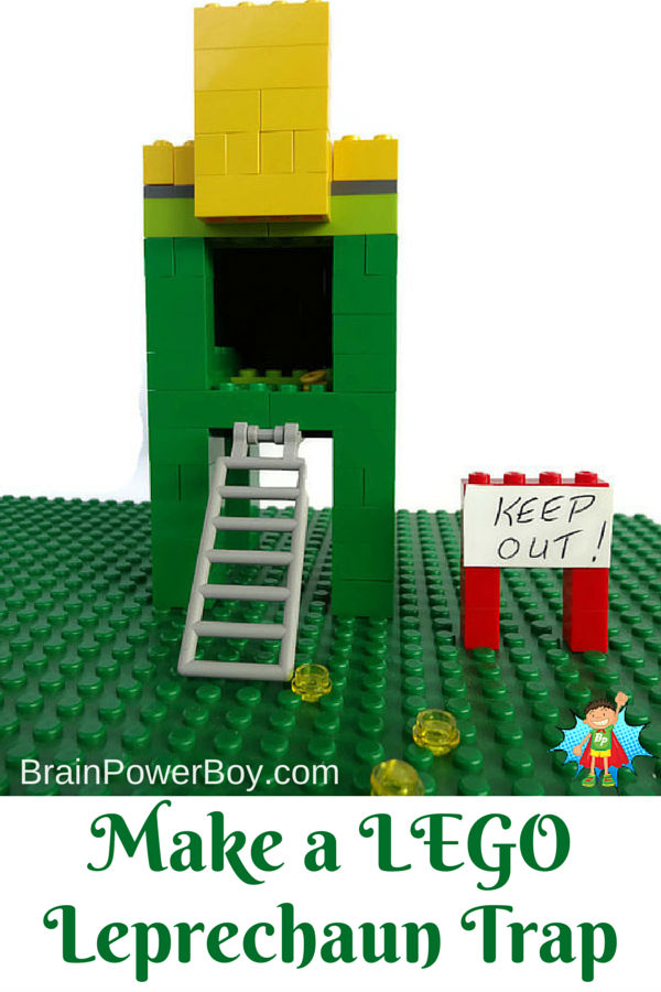 Make Lego Leprechaun Traps That Are Sure To Catch A