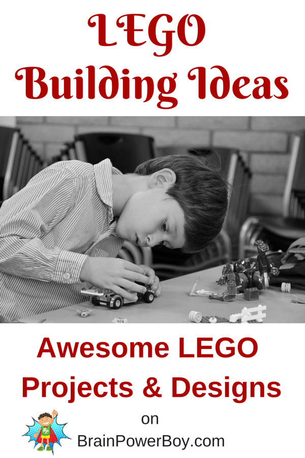 A whole bunch of LEGO Designs, awesome projects and LEGO building ideas.