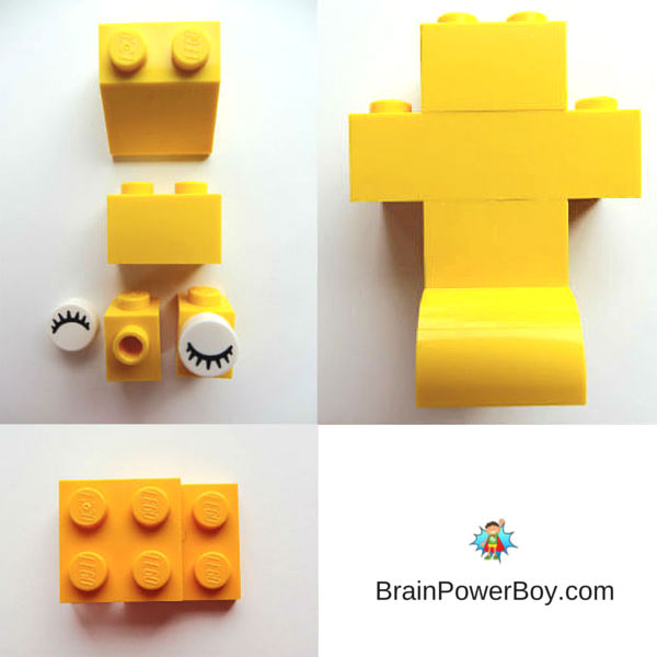 LEGO Easter chick building instructions. Get directions to make a cute LEGO Easter Chick.