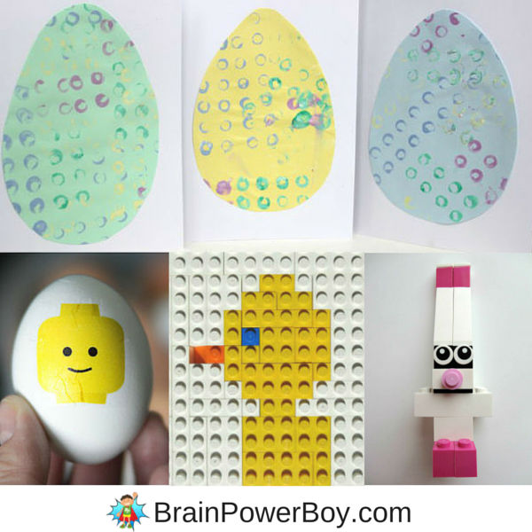 Super fun LEGO Easter Ideas to try with your kids. We picked out the very best LEGO Easter projects and activities we could find and rounded them up for you! Building instructions are included for all of the LEGO Easter Designs.