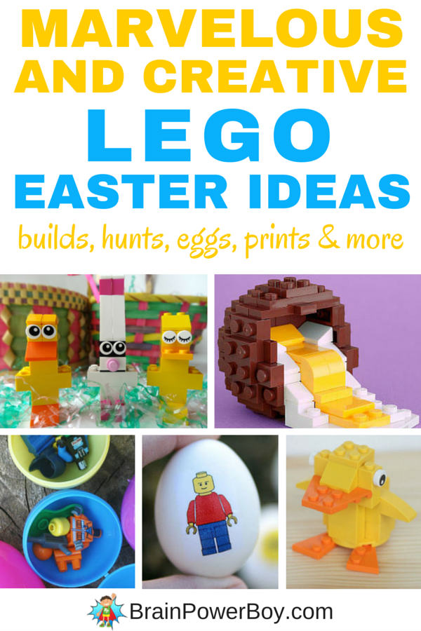 Awesome lego easter ideas your kids will love super fun lego easter ideas you have to try these with your kids these negle Choice Image