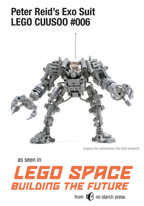 LEGO Exo Suit LEGO Space Building the Future