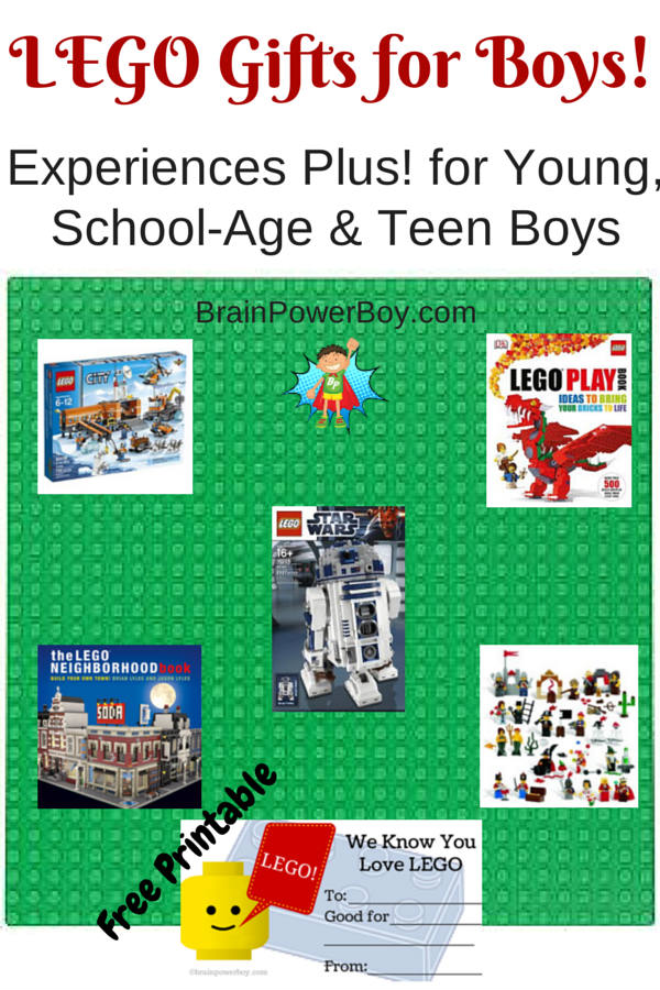 Experiences Plus LEGO Gift Guide for Boys!
