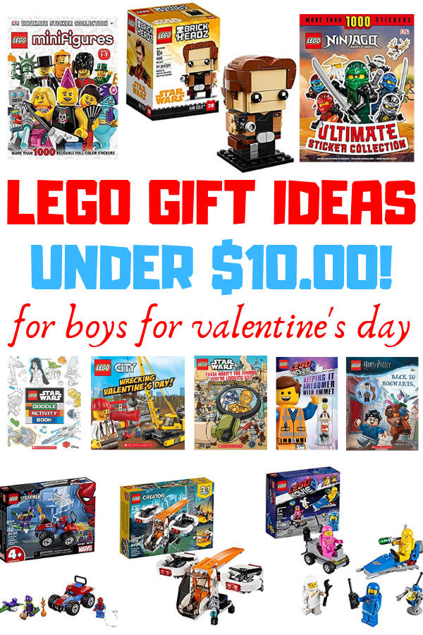 Awesome LEGO Gift Ideas for Boys for Valentine's Day. Show them a little LEGO love! Includes Ninjago, Brickheadz, The LEGO Movie 2, books, sets and much more!!