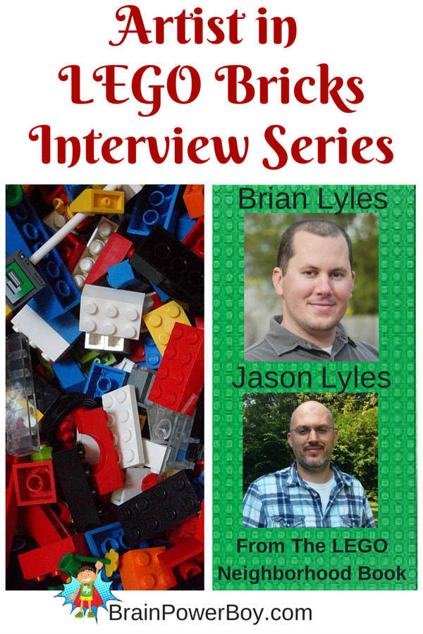 Interview with Brian Lyles from The LEGO Neighborhood Book