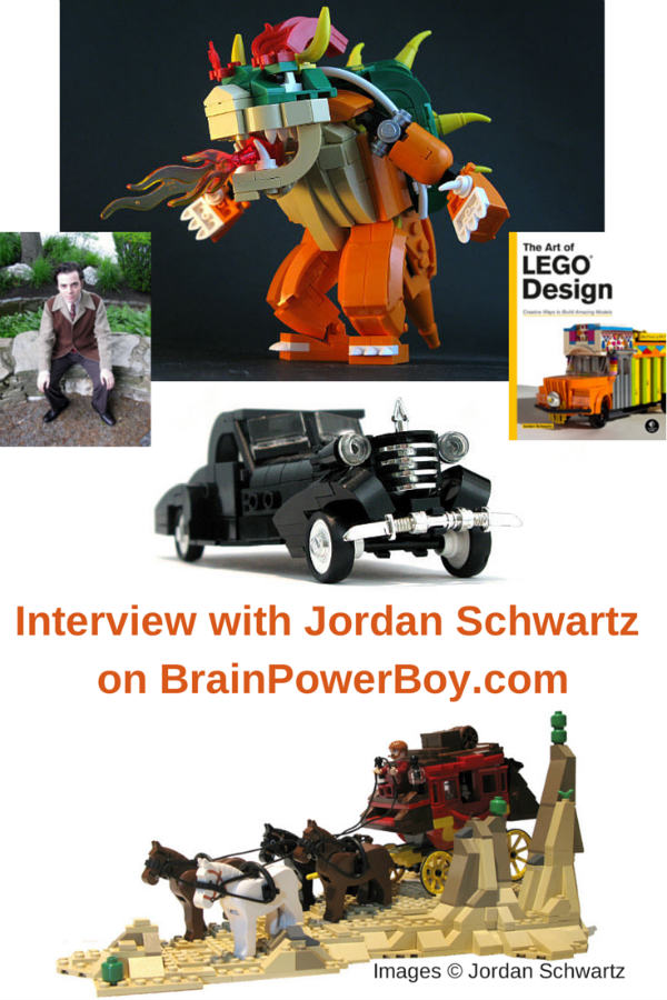 Interview with LEGO Brick Artist Jordan Schwartz. Hear what Jordan has to say about learning with LEGO.