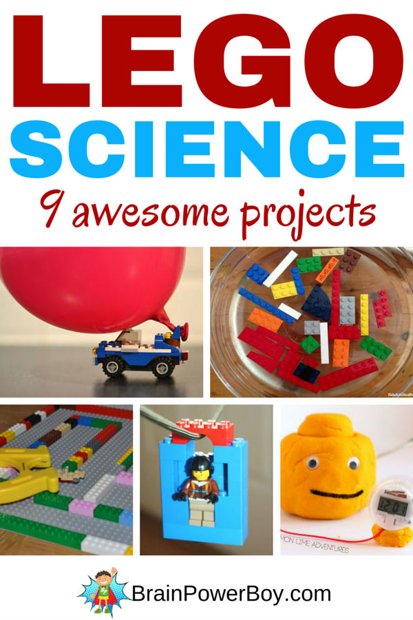 Awesome LEGO Science Projects