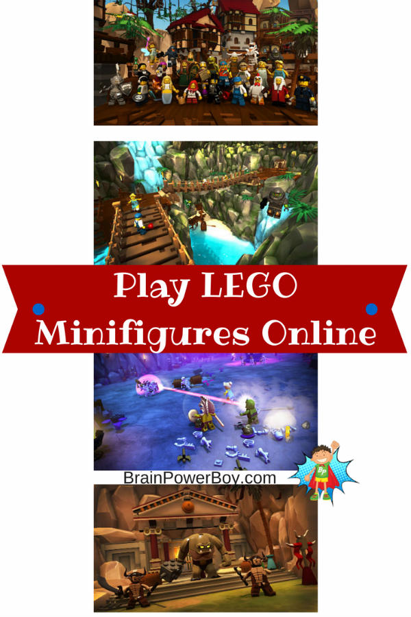 LEGO Minifigures Online is a fun new game where you can play as a minifigure.