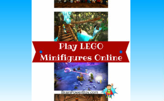 LEGO Minfigures Online Game great for boys.