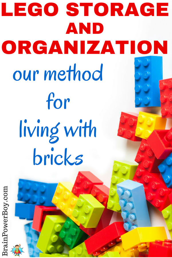 Super easy, do-able LEGO organization and storage ideas that actually work. Never step on a LEGO brick again! See our storage setup and tips for keeping LEGO under control in your house.