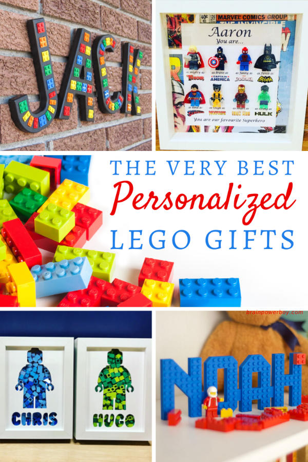 Custom LEGO Name Gifts