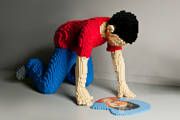 Artist in LEGO Bricks Interview Series:  Nathan Sawaya