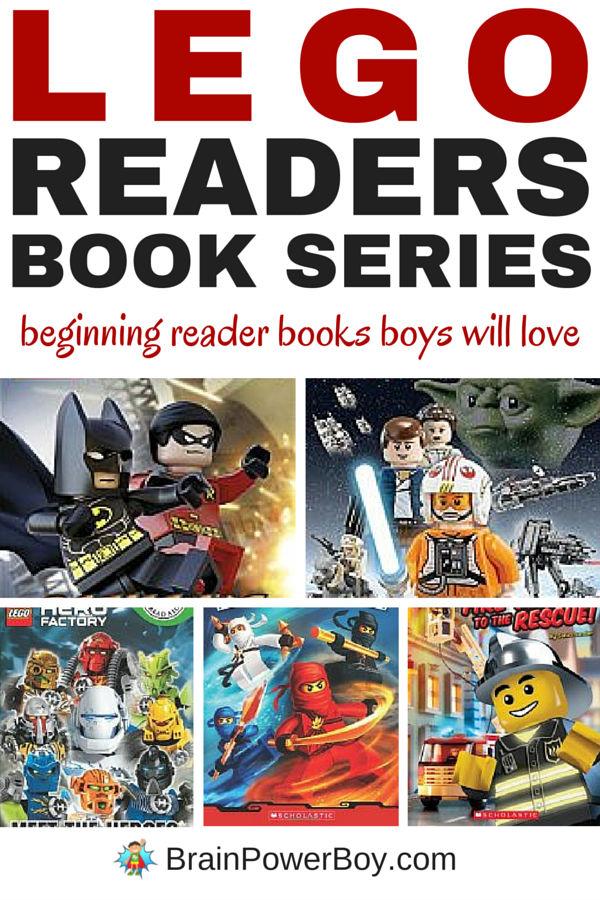 LEGO Reader Books Series for Boys