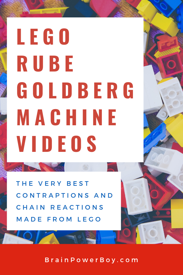 LEGO Rube Goldberg Machines: Cool Contraptions You Have to See!