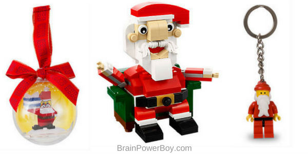 What better LEGO stocking stuffer than a LEGO santa!?