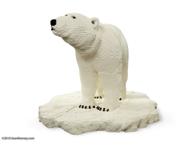 LEGO Sean Kenney polar bear