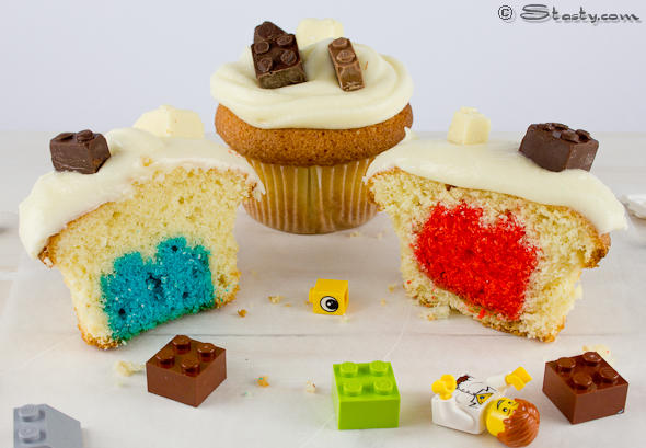 LEGO Secret Inside Cupcakes