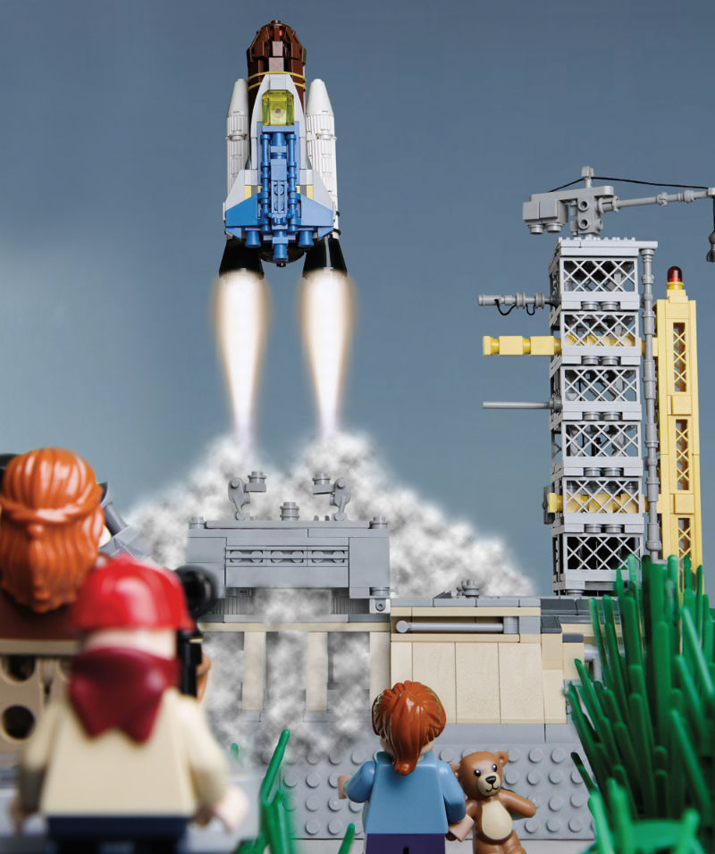 LEGO Space Launch LEGO Space Building the Future