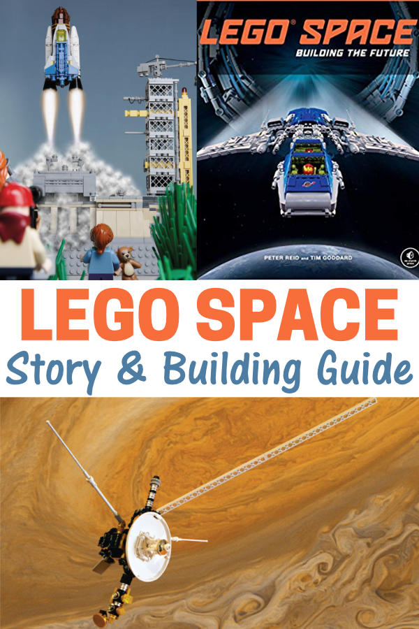 LEGO Space Book Review - Building Guide and Story