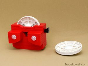 LEGO Viewmaster Bruce Lowell. Interview | BrainPowerBoy
