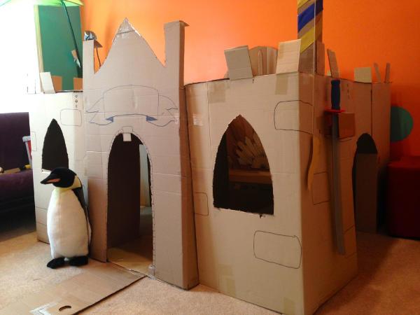 Large DIY Castle Playhouse