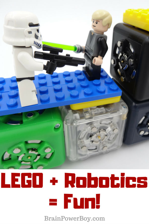 I found a really cool robotics kit that lets you combine LEGO and their blocks. You have to see this! (with ad Home Science Tools.)