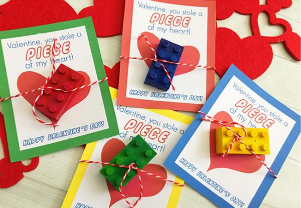 Lego Brick Valentine