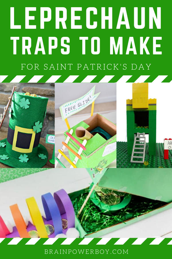 Easy Leprechaun Traps to Make! What a fun Saint Patrick's Day activity!