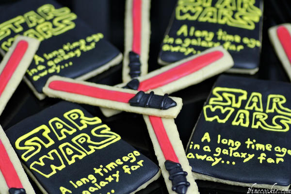 Light Saber Cookies to Make At Home