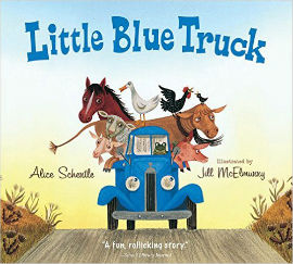 Little Blue Truck is filled with animal and truck noises your boy will enjoy