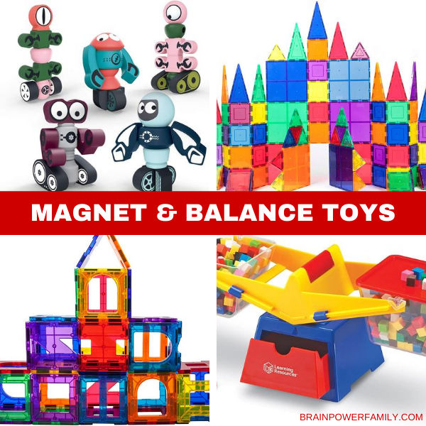 Magnet sets and Balance toys