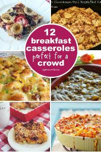 Make-ahead Breakfast Casseroles for a Crowd - Super Mommy Club